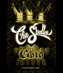 Logo for a legal herbal incense called The Sballo Gold